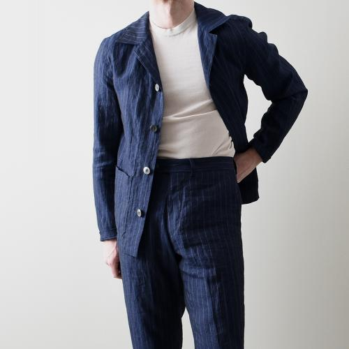 Hampus shirt Jacket Navy