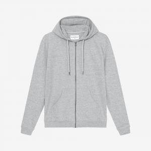 Hoodie Grey Melange