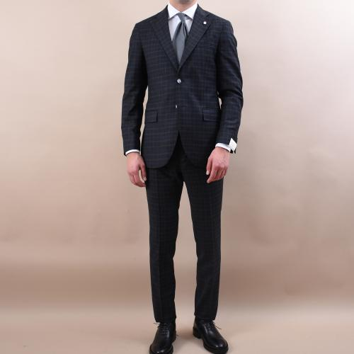 Jack Suit 2 Button Wool Grey