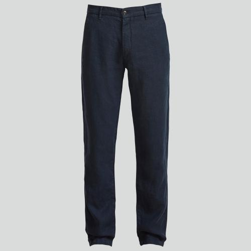 Karl 1196 Linen Trousers Navy