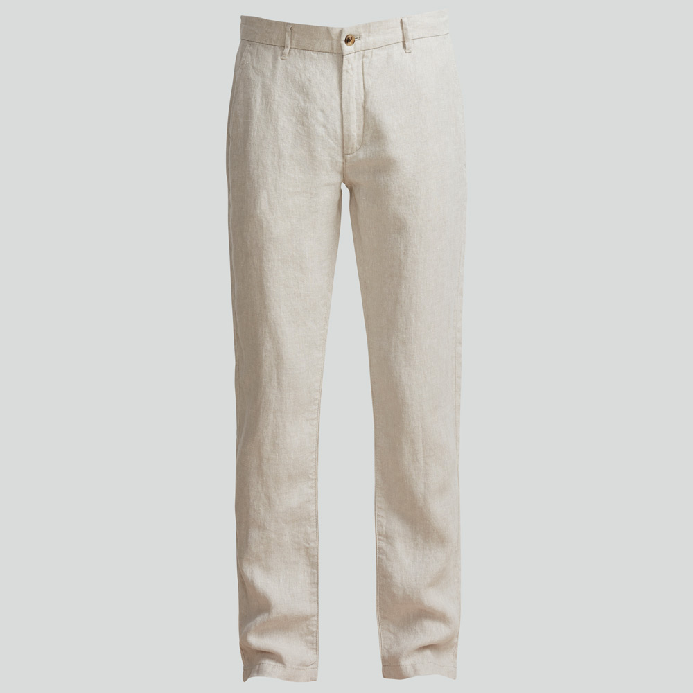 Karl 1196 Linen Trousers Beige