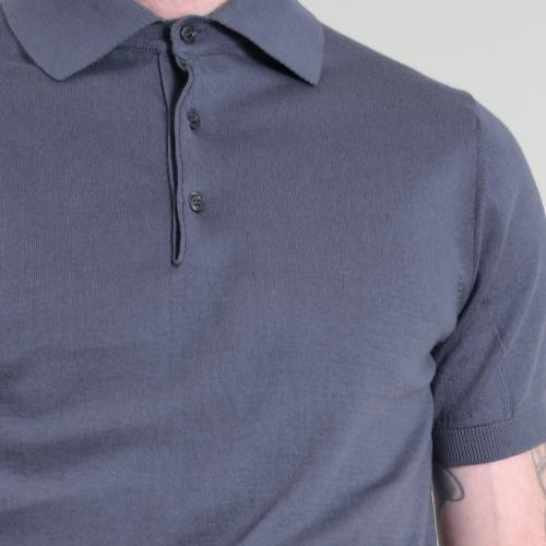Knitted Short Polo
