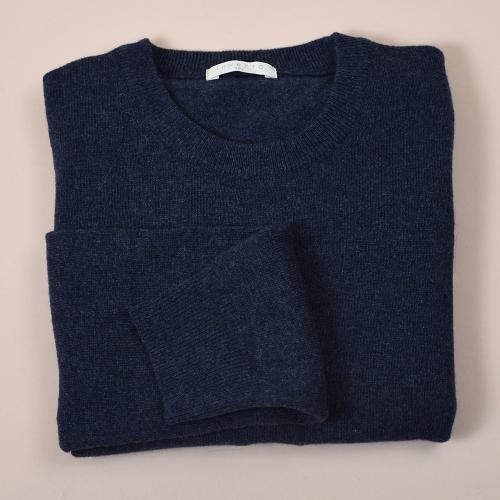 Lambswool 12 gauge Navy