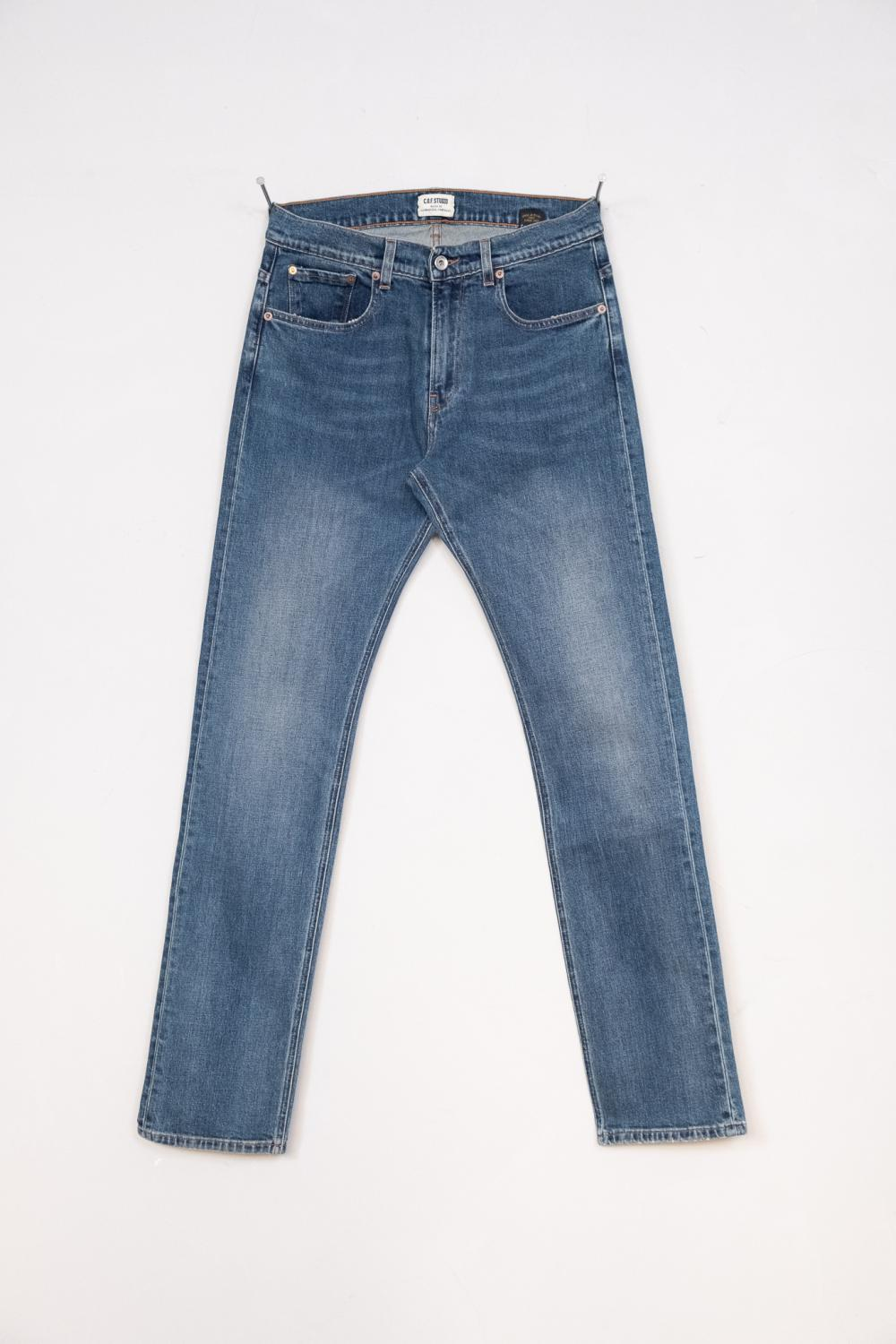 M1 Slim - Indigo - Heavy Used