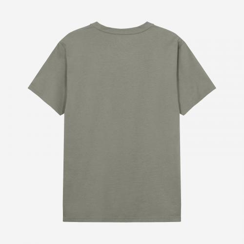Crew-Neck cotton Dusty Green