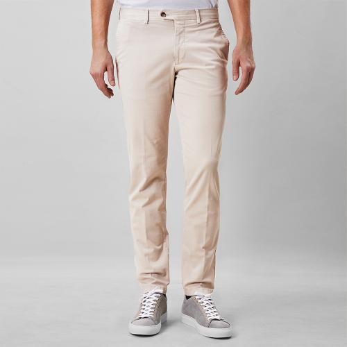Danwick Cotton Trousers Sand