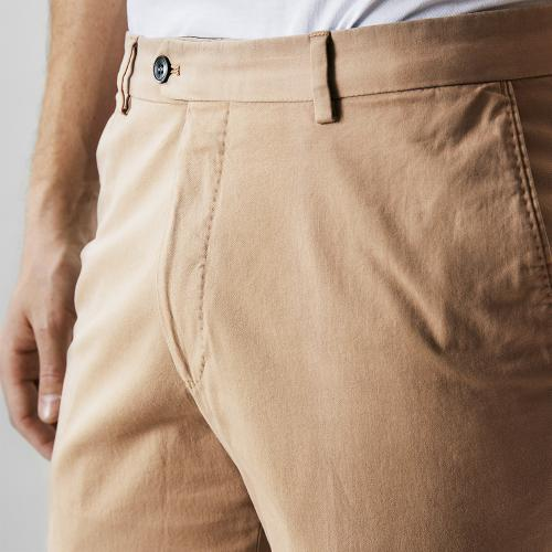 Denz Cotton Trousers Beige