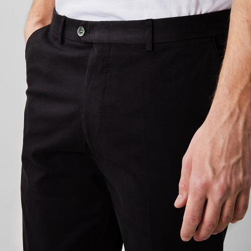 Denz Cotton Trousers Black