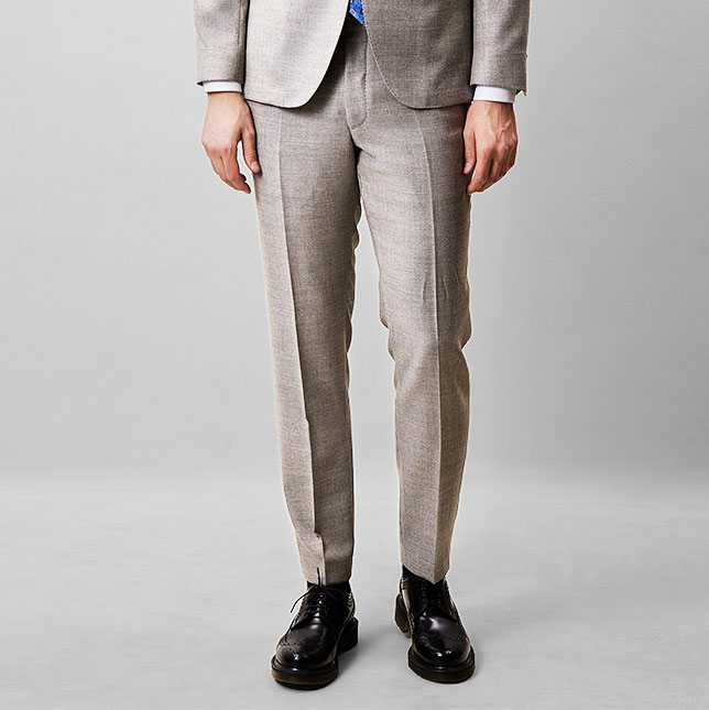 Denz Trousers Nut Beige