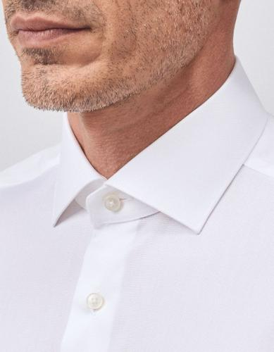 Tailor Fit Travel Shirt White