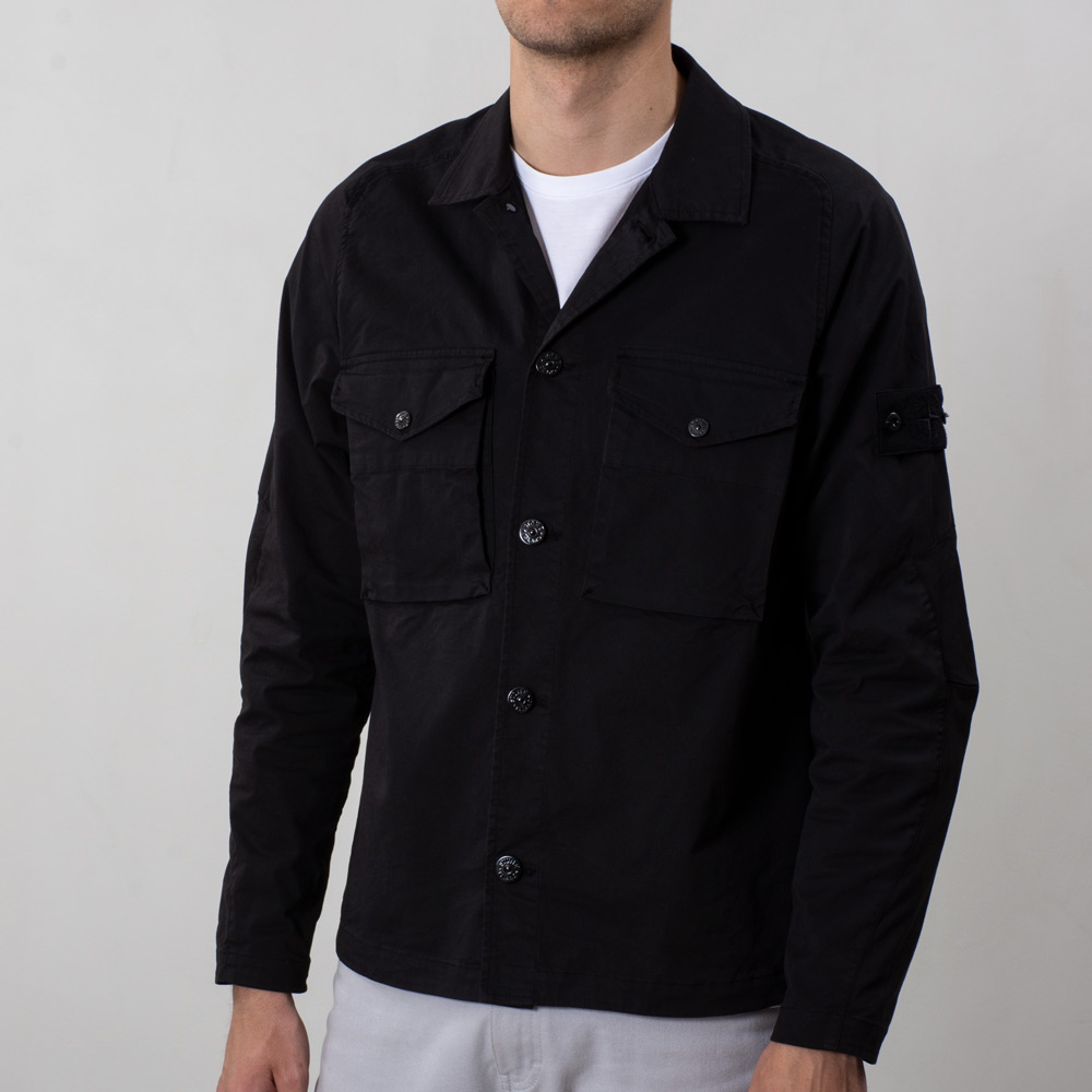 Ghost Overshirt Black 7215123F2 V0029