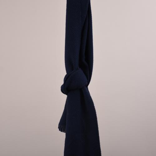 Structure Scarves 35*180 Navy