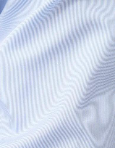 Tailor Fit Striped Travel Shirt Blue