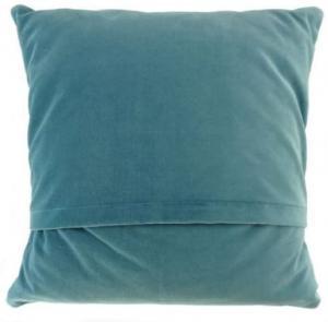 Harris Tweed - kudde grön/blå tartan