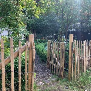 Trädgårdsgrind i kastanj
