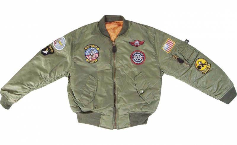 Pilotjacka USAAF - junior