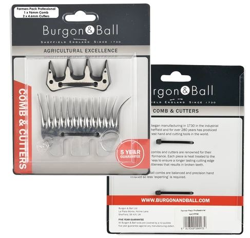 Burgon & Ball Farmers pack Wide - 1 x under och 2 x överskär