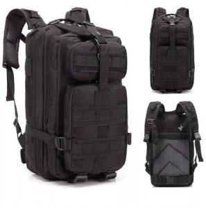 Ryggsäck - Tactical 30 liter Svart