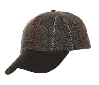 Hawkins Baseball Cap - tweed