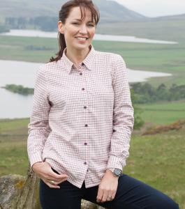 Hoggs Alba Ladies Jersey Lined Shirt