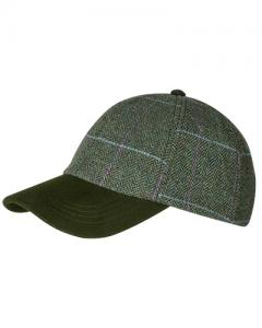 Hoggs Albany Ladies Tweed Baseball Cap