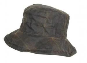 Oxford Blue Ascot Tartan waxed hat