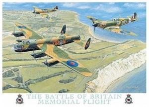 Metallskylt - Battle of Britain Memorial Flight