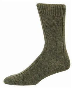 Brogue sock