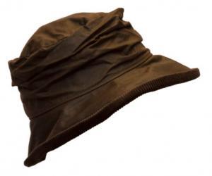 Walker & Hawkes Diana - vaxad hatt Brun