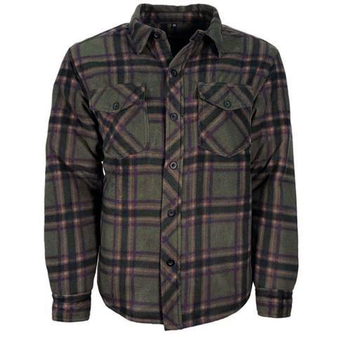 Buffalo Lumberjack - fodrad fleeceskjorta