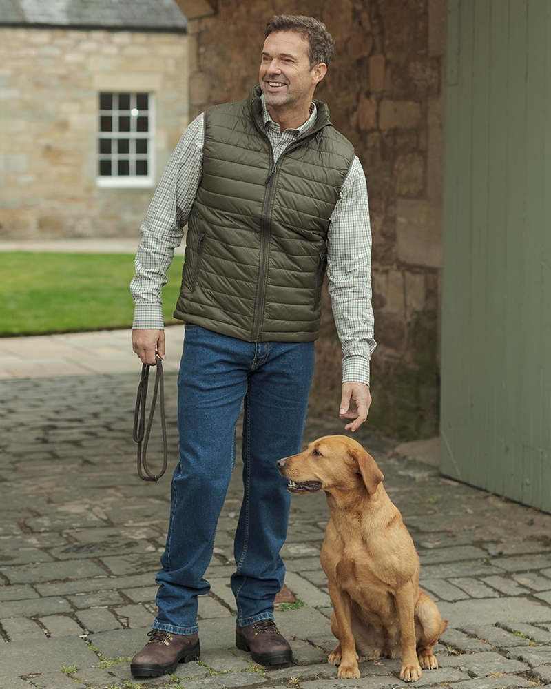 Hoggs Craigmore Quilted Gilet