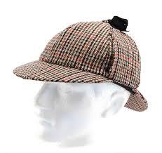 Hawkins Deerstalker Sherlock Holmes Hat
