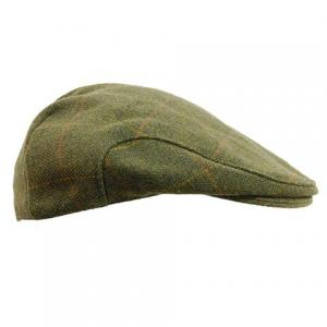 Game Derby Tweed Flat Cap