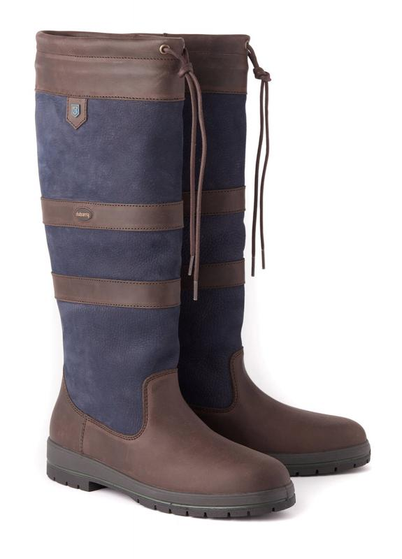 Dubarry Galway Läderstövel - navy