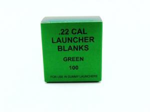 Blanks kal .22 lösa skott till dummykastare - grön