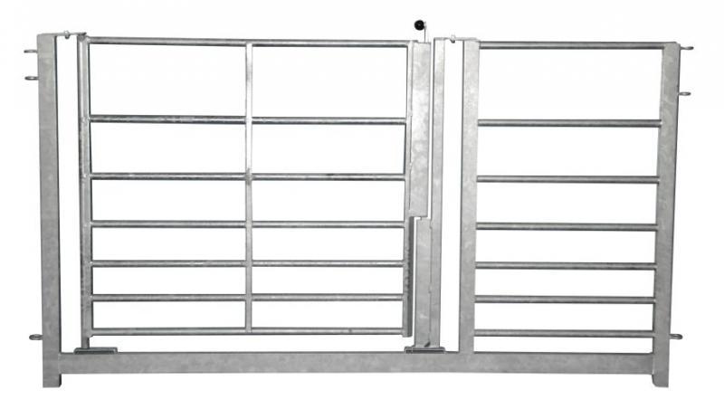 Hanteringsgrind med dörr/grind - Knarrhult