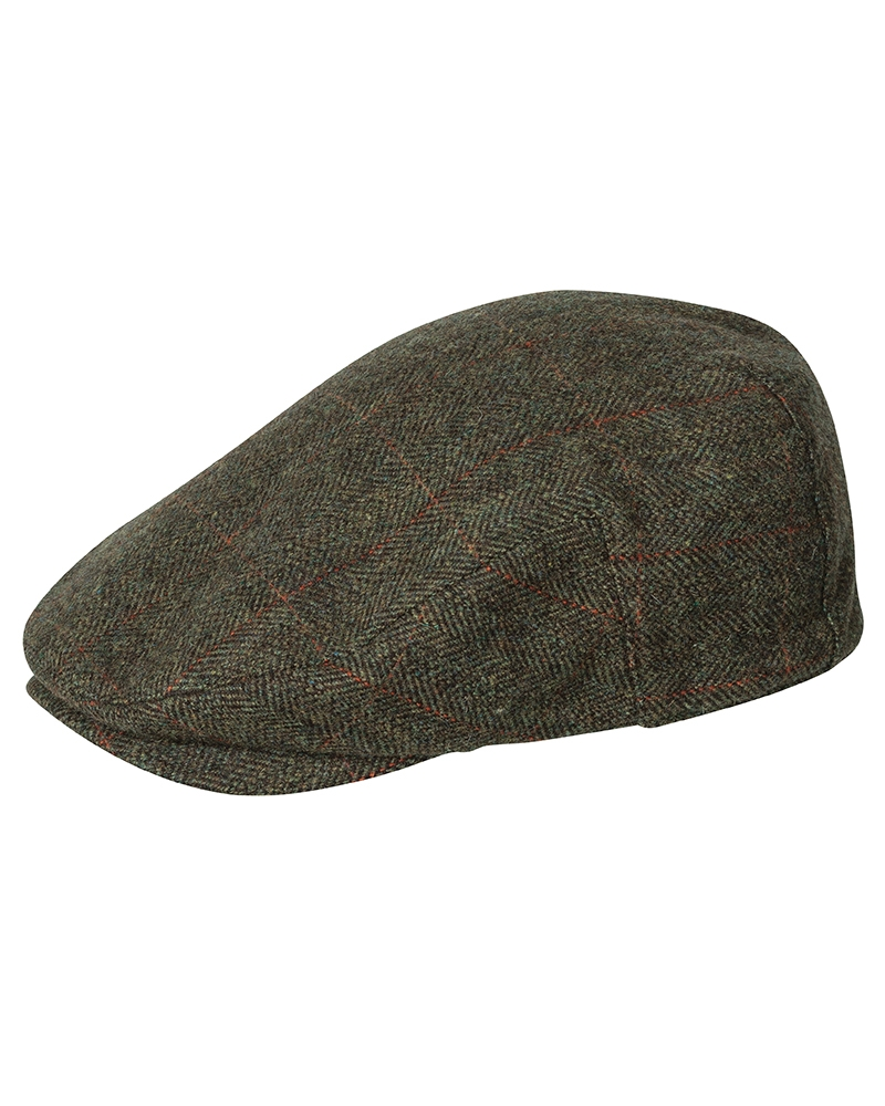 Hoggs Harewood Tweedkeps - Flat Cap