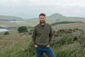 Hoggs Hebrides - zip pullover