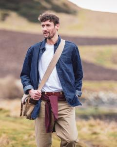 Hoggs of Fife - Archerfield jeansskjorta
