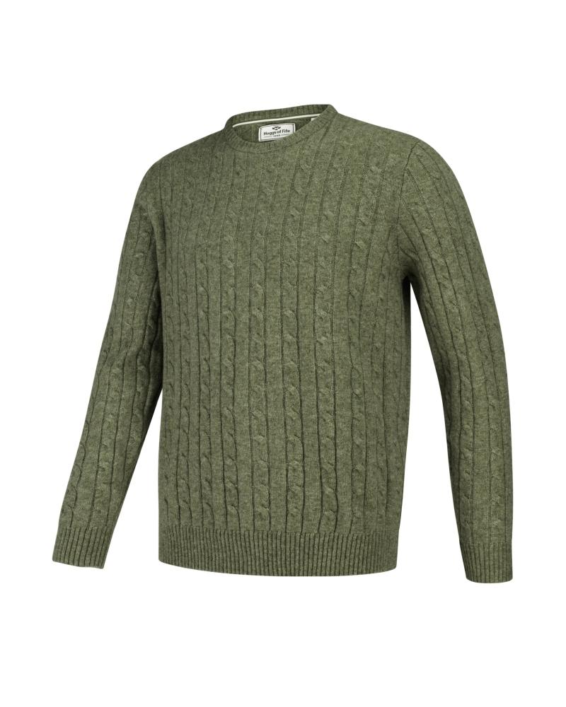 Hoggs of Fife Jedburgh - Arranstickad pullover
