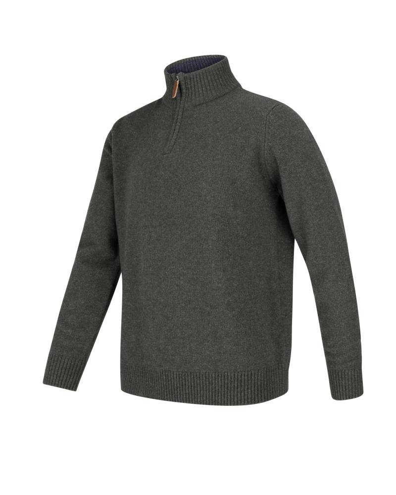 Hoggs of Fife - Lothian Zip-neck ylletröja