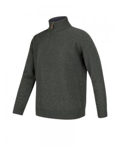 Hoggs of Fife - Lothian Zip-neck ylletröja