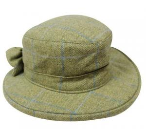 Oxford Blue Thelma tweed hat