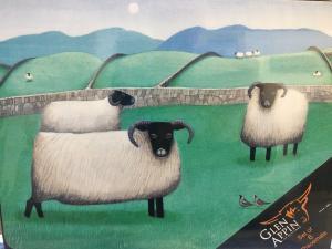 Glen Appin Tallriksunderlägg - får