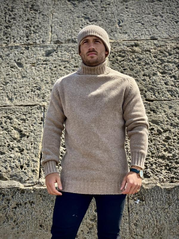 Fortis - Roll neck 100% ull