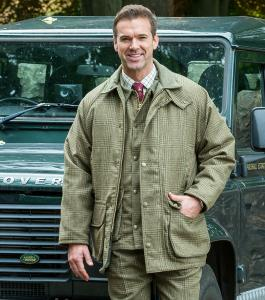 Hoggs Invergarry - tweed shooting jacket