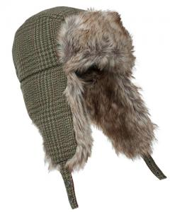 Hoggs Invergarry - tweed trapper hat