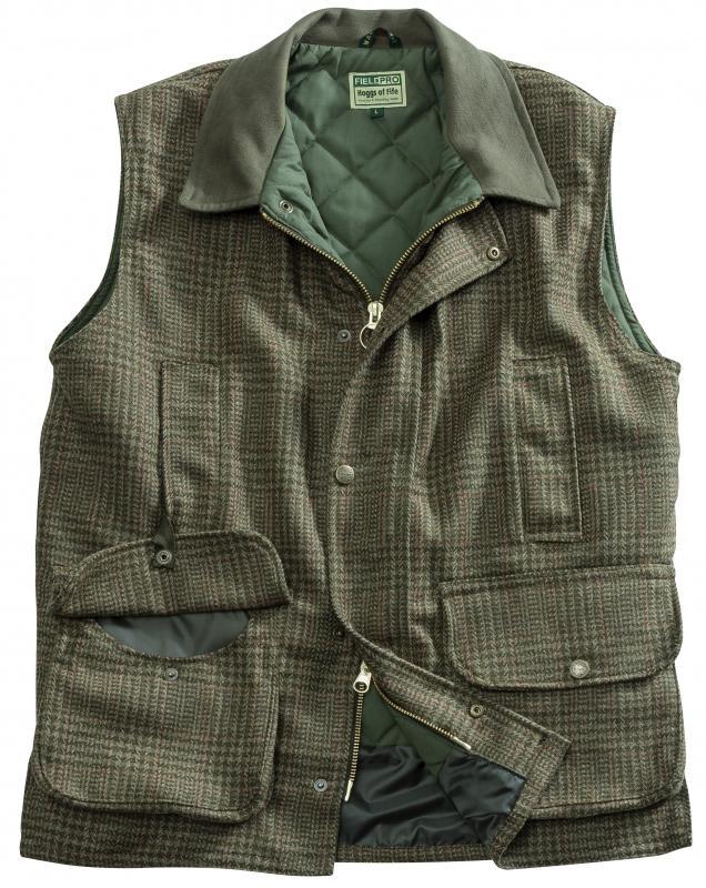 Hoggs Invergarry Tweed Gilet