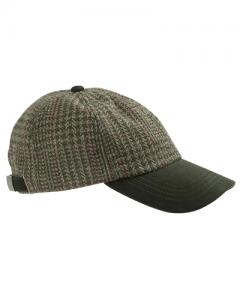 Hoggs Invergarry - tweed baseball keps