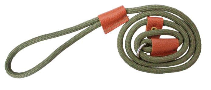 Bisley - retrieverkoppel nylon/läder 1,2 m